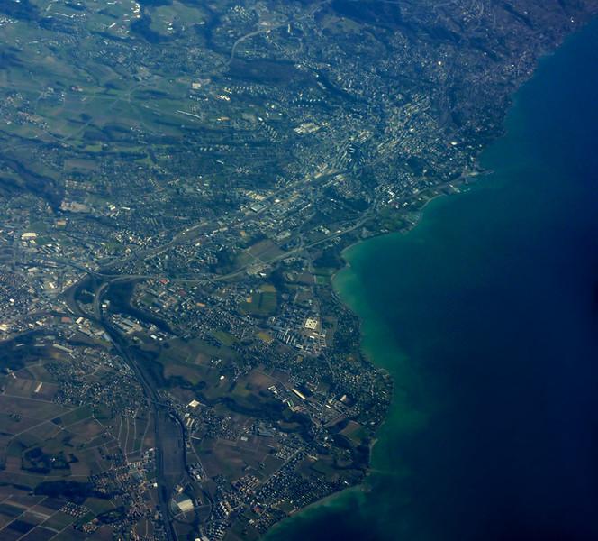 Denges, Echandes. Saint-Sulpice, EPFL, Lausanne
