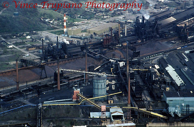 Weirton Steel Company in Weirton, WV - 1986.