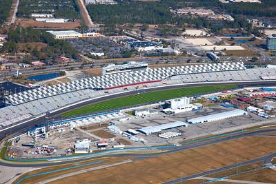 Aerial View of Daytona Speedway