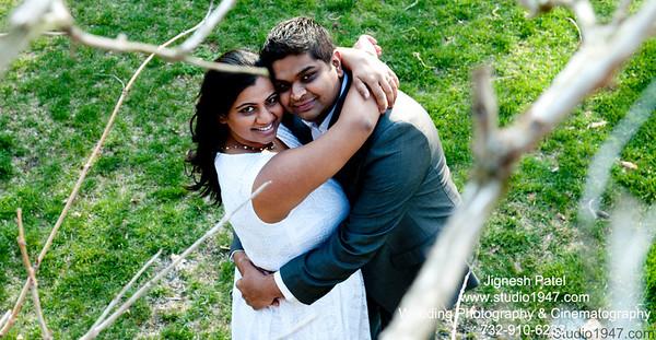 Mehul & Aesha Pre-Shoot (14.04.2013)