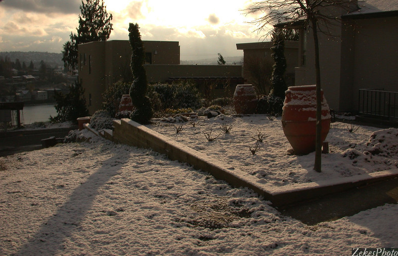 Post Snow Sunrise