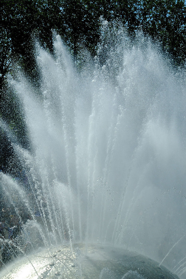 Burst from Fountain