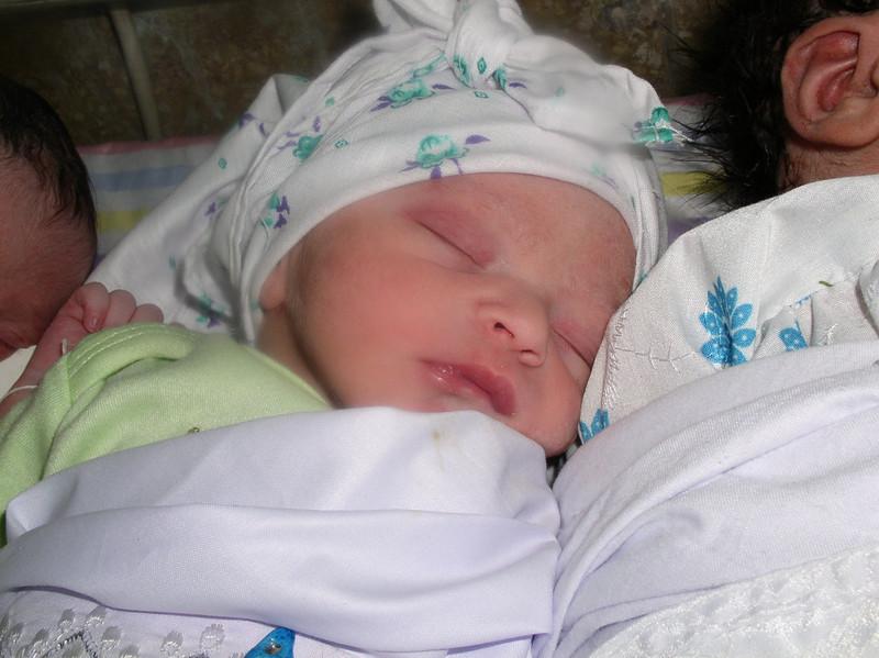 Sleeping newborn - Kabul, Afghanistan
