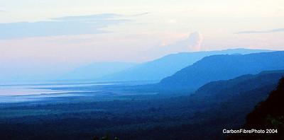 Evening over Lake Maynara, Tanzania