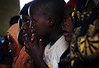 Children listening intently at church in Maragua, Kenya