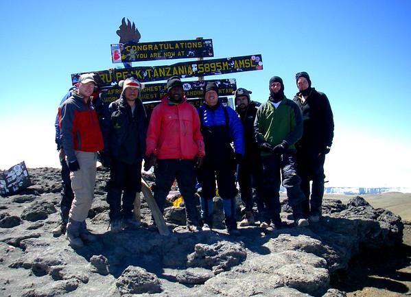 Africa & Mt Kilimanjaro for FUMC Presentation
