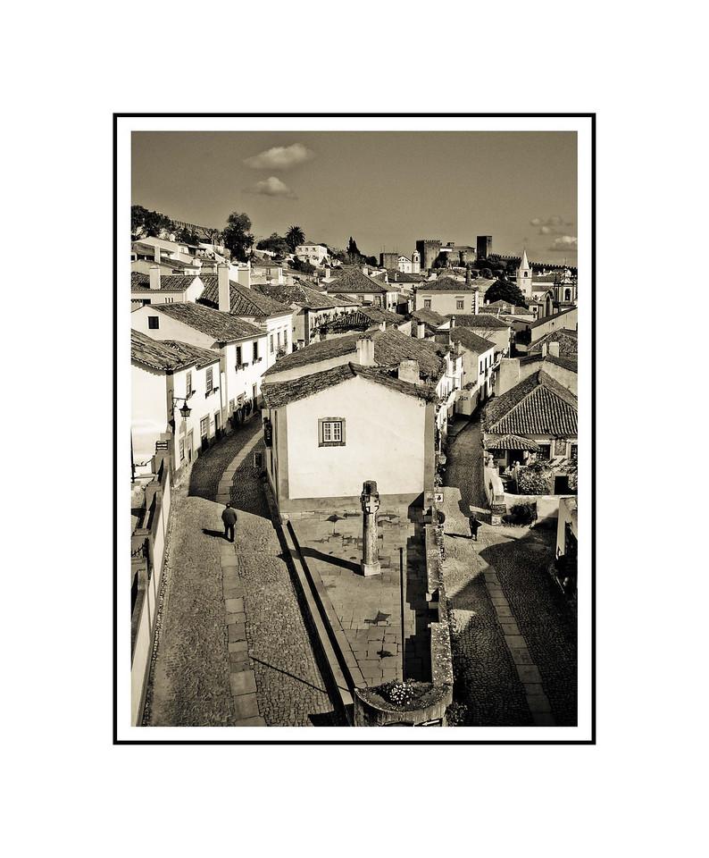 """Going Home""<br /> <br /> Photograph: 8""x10.66"" archival gelatin silver print<br /> Frame: 16""x20"" white matte w/ black core, black metal frame"