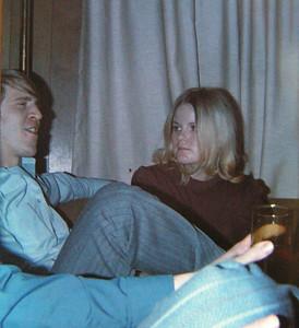 joe danko & kathy hoffman, fairbanks, fall 1970