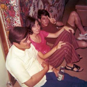 Chet Aiken, Jan, Baby Merril, San Angelo, TX, june 1970