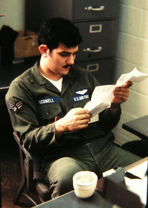 Gerry Schnell, eielson afb, march 1972
