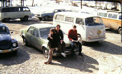 May Day BBQ, North Pole, AK, may 1, 1971  R-L _czarla & karl    , glen pare