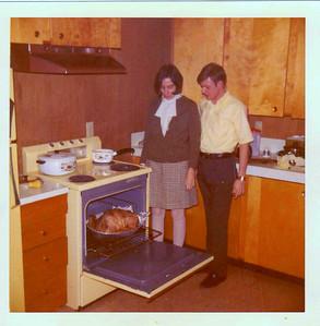 AF friends - Nov 1971, Thanksgiving, North Pole, AK   Jan & Jimmy Drake