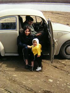 jan, jenny & herbie bechtel, june 1971, alaska