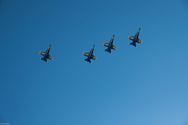 Blue Angels, San Francisco, 2012