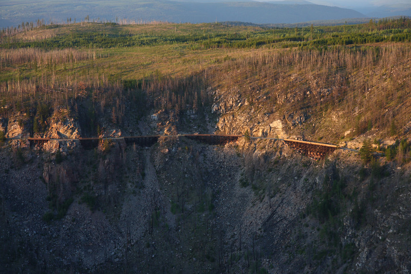The Myra Canyon Trestles