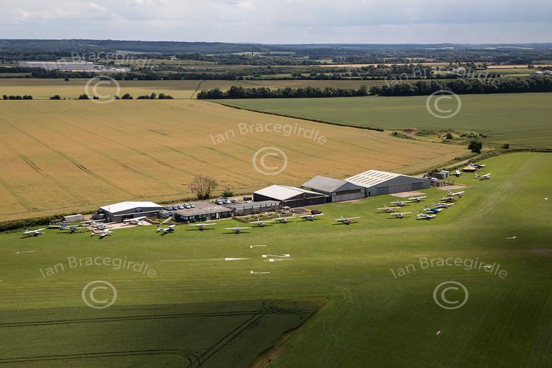 Aerial photo of Netherthorpe Airfield-5