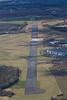 Hucknall airfield from the air.