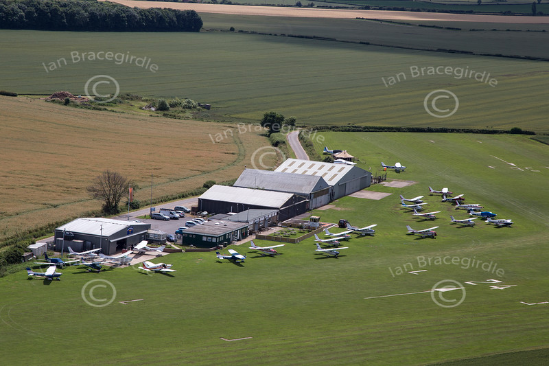 Aerial photo of Netherthorpe Airfield-4