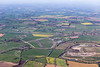 Aerial photo of Rufforth airfield .
