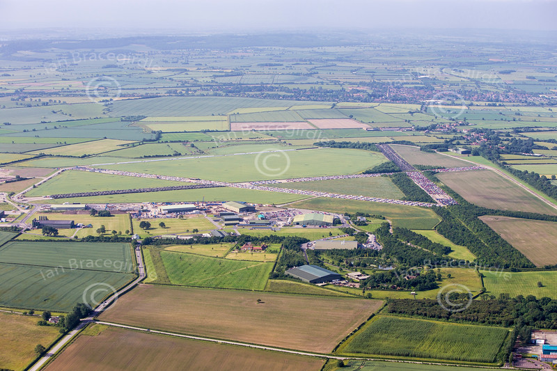 Aerial photo of Bottesford Airfield-250