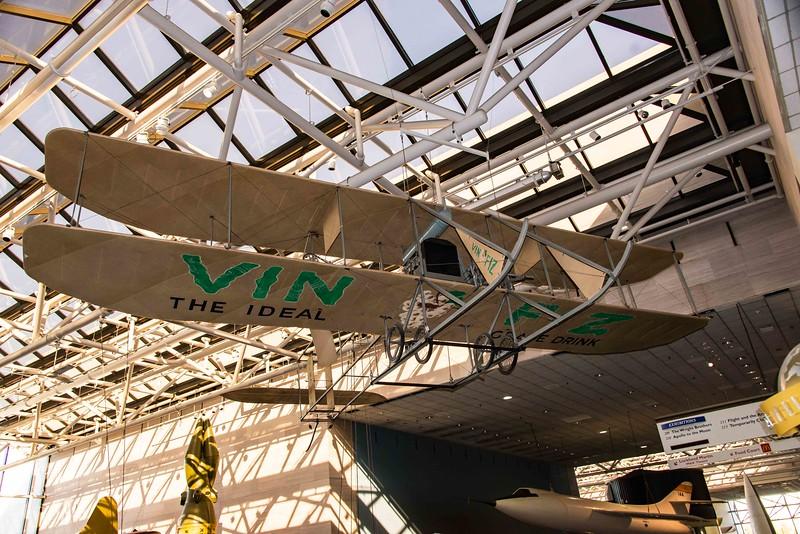 Wright Bros. EX variant of Model B Flyer, first transcontinental flight, 1911.