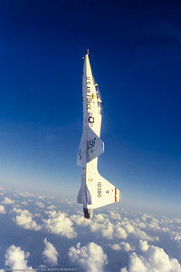 T-38 in Vertical Climb