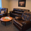 Visiting pilots can take advantage of this lounge at the new Effingham County Memorial Airport terminal building.