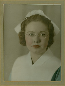 Mom, around 1940.