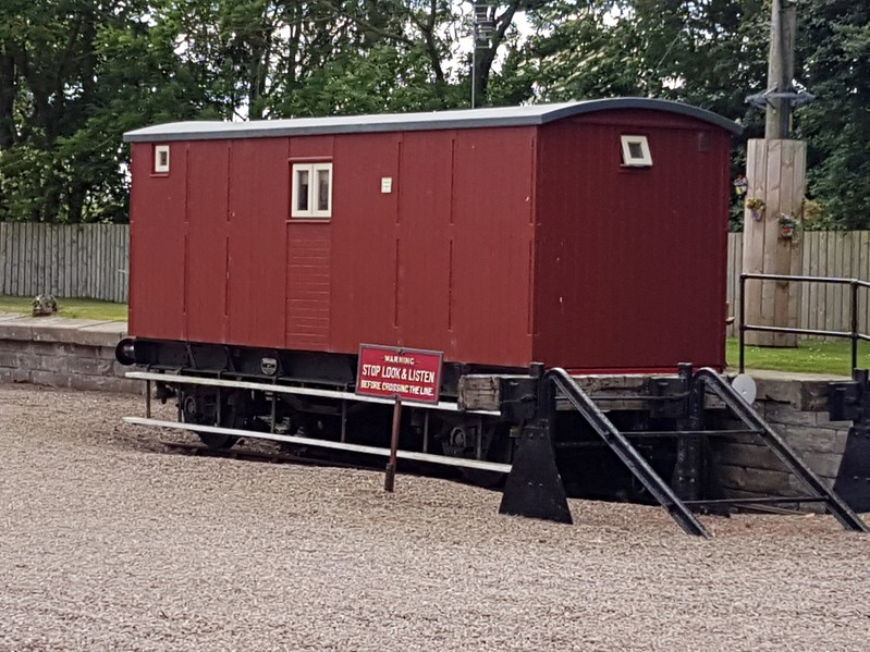 B954297 ex Brake Van (FO) with new unknown (BO) on top.