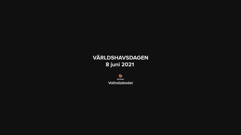 Världshavsdagen den 8 juni 2021