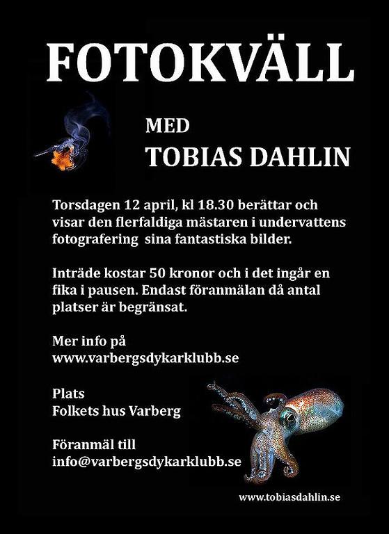 Föreläsning Varbergs Dykarklubb