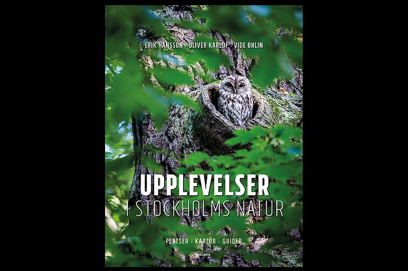 Tobias medverkar i bok: Upplevelser i Stockholms natur