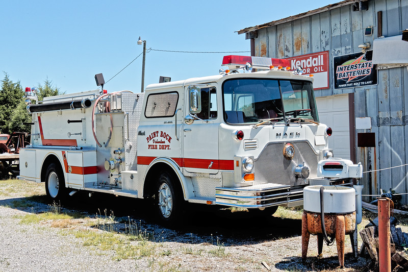 Paint Rock Volunteer Fire Department Truck