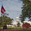 Alabama State Capitol viewed from The First White House of the Confederacy
