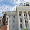 Jefferson Davis Statue at Alabama Capitol