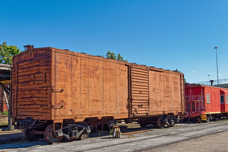 Box Car at Huntsville Depot