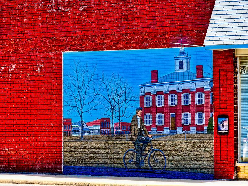 Scottsboro, Alabama Mural