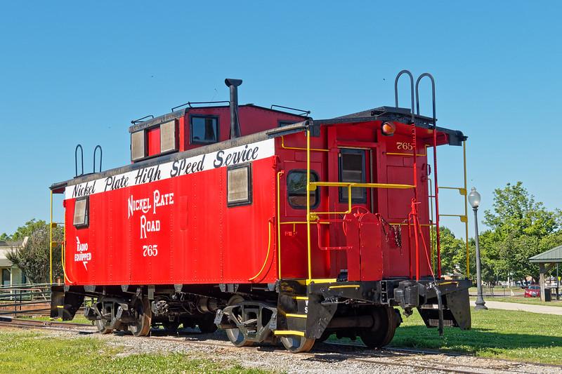 Caboose at Huntsville Depot