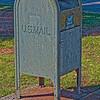 Old U.S. Mailbox at Huntsville Depot