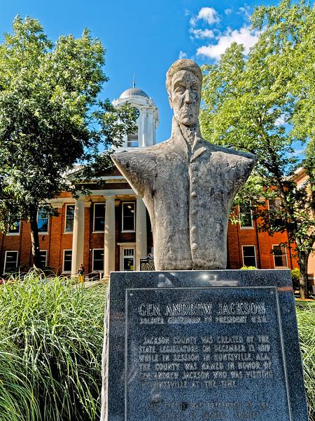General Andrew Jackson Statue