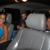 Girls pile in for one fun car ride to party town.
