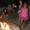 Anaya's flaming marshmellow captures attention.