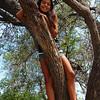 Alana the tree hugger.