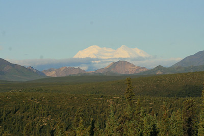 mt. mckinley from denali nat. prk ~ 35 miles away