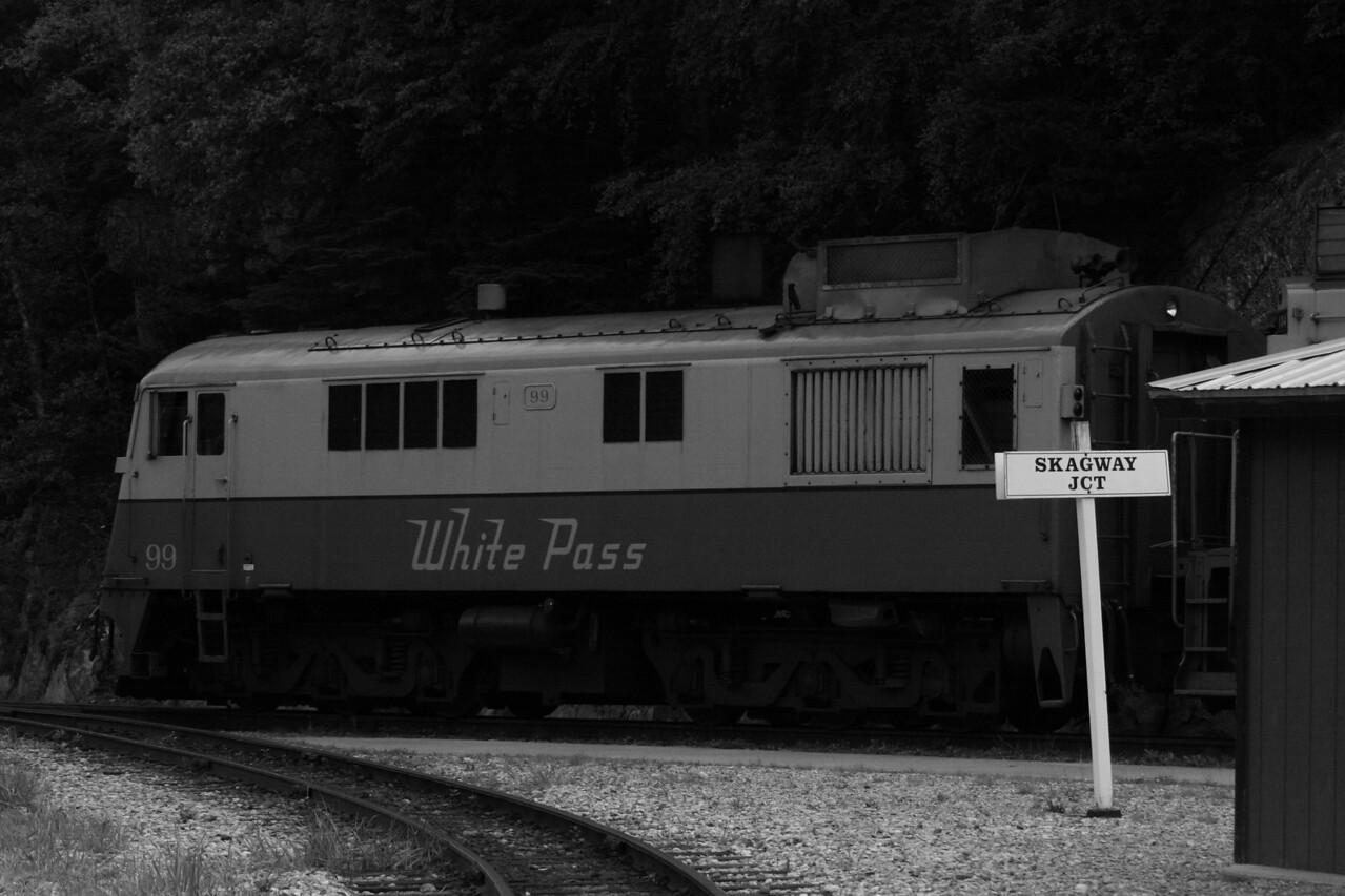 white pass engine...