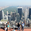 New York from Top of the Rock, Rock Rockefeller Center New York.