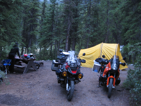 rampart creek camp