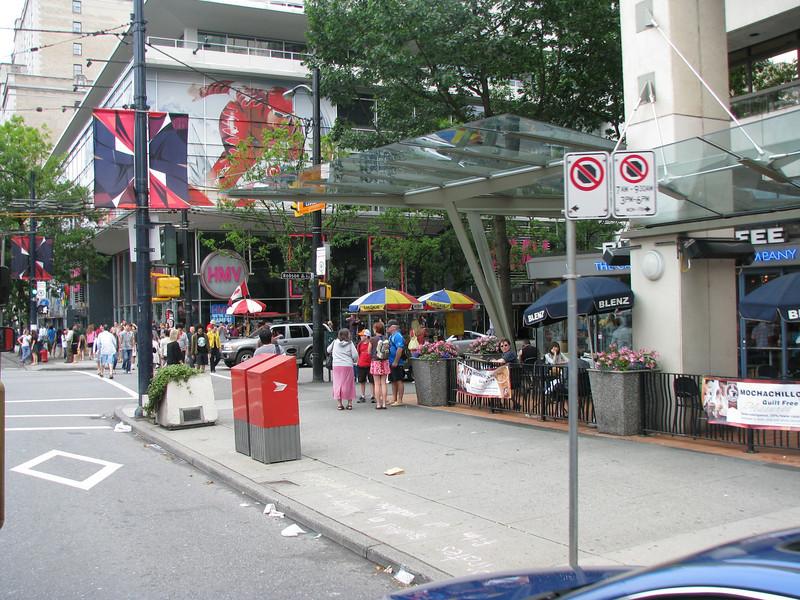 Vancouver Street Scene