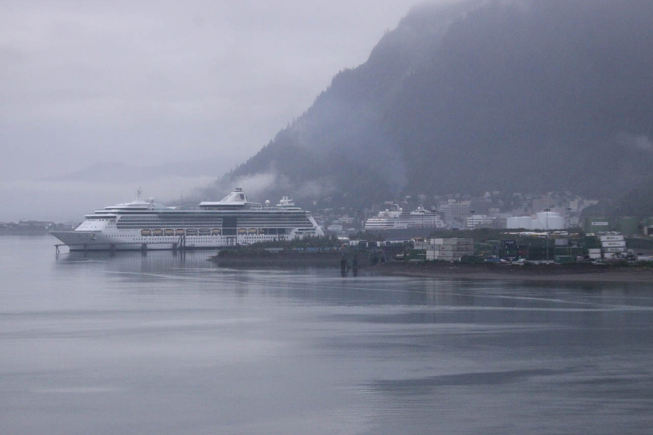 Cruise Ships in Port at Juneau