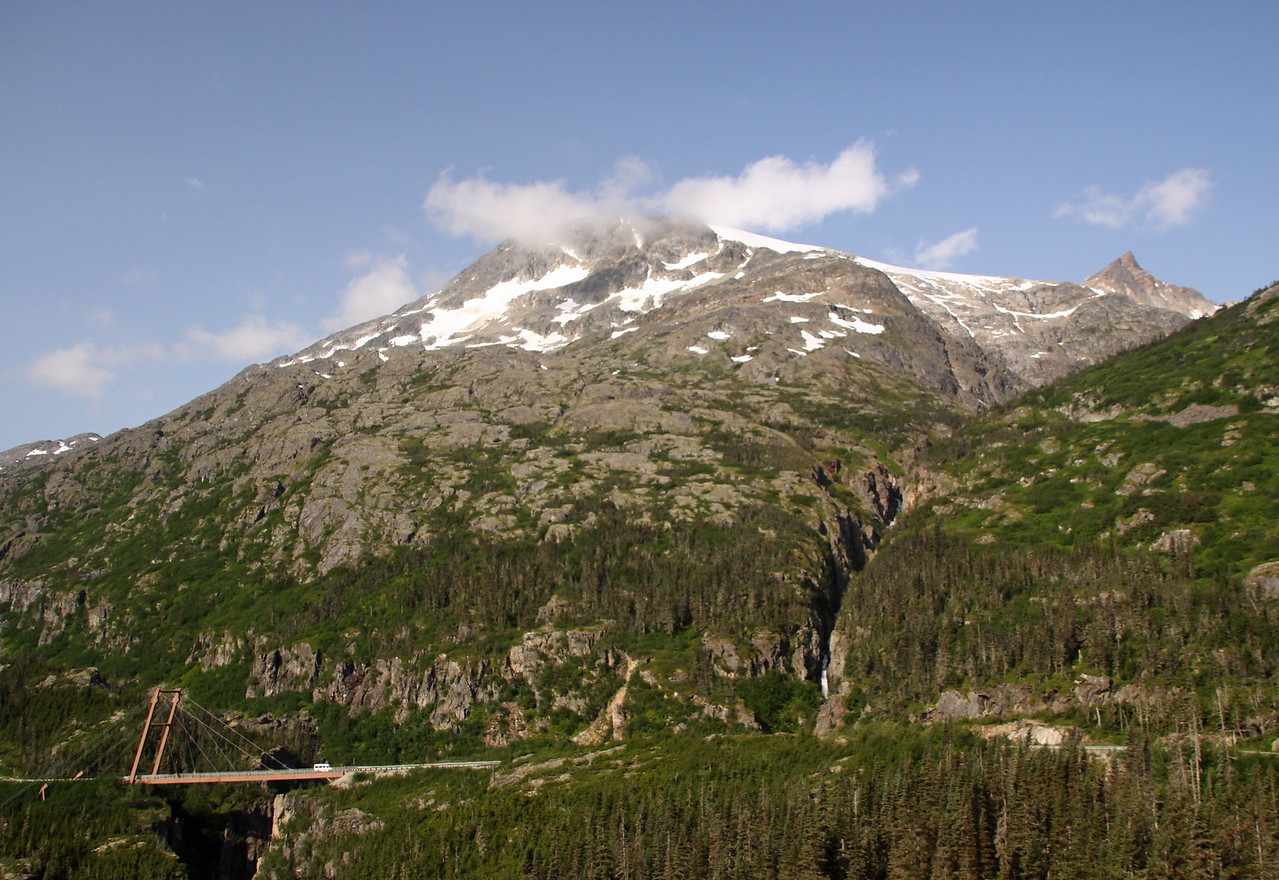 Going from Skagway into the Yukon